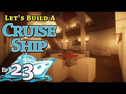 How To Build A Cruise Ship :: Minecraft :: E23 :: Z One N Only