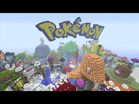 Minecraft (Xbox 360) - Pokemon - Hunger Games