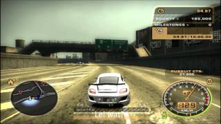 NFS Most Wanted - A Helicopter in the Roadblock