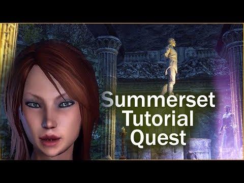 SUMMERSET TUTORIAL QUEST - Elder Scrolls Online: Summerset (#1)
