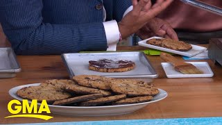 Jacques Torres' chocolate-dipped cookies kick off Ultimate Chocolate Chip Cookie Week l GMA