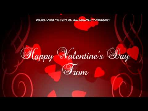 Valentines Day Greeting Video Template For Small Business