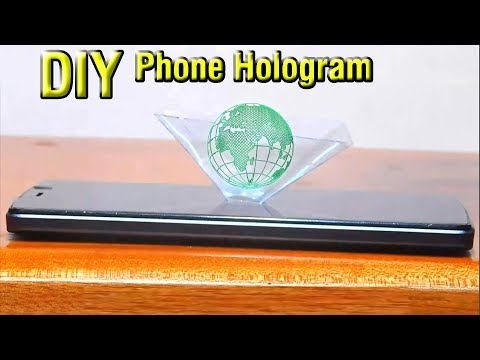 Phone display 3D Hologram view | How to make 3D Hologram | Stupid Engineer