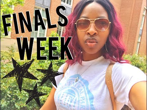 College Week in My Life: Finals, Move-out, UNC Campus Tour