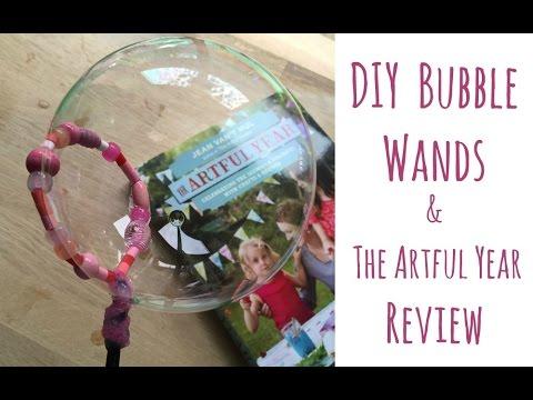 DIY Bead Bubble Wands & The Artful Year