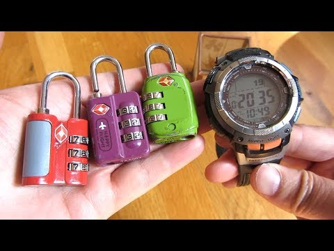 Find Lost Combination by Trying Every Number | TSA Luggage Lock | How To