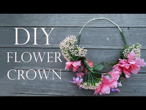 ❤️ DIY FLOWER CROWN TUTORIAL | FAUX FLOWER HEADBAND | DO IT YOURSELF
