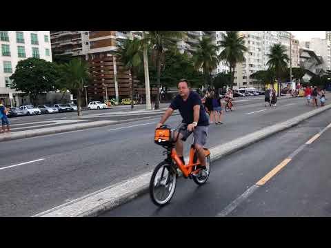 copacabana walkway
