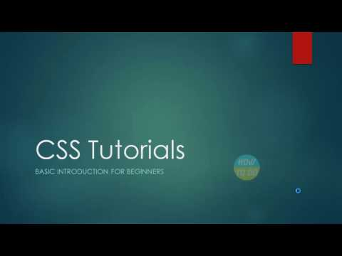 CSS Tutorials   Basic Introduction for Beginners
