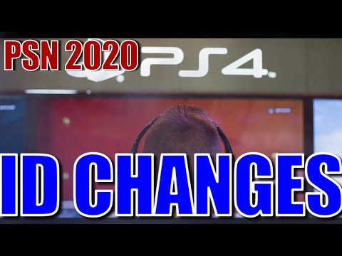 PSN ID/NAME Changing - [PlayStation Network] - (2018) Software Updates - [News Video] ☑️