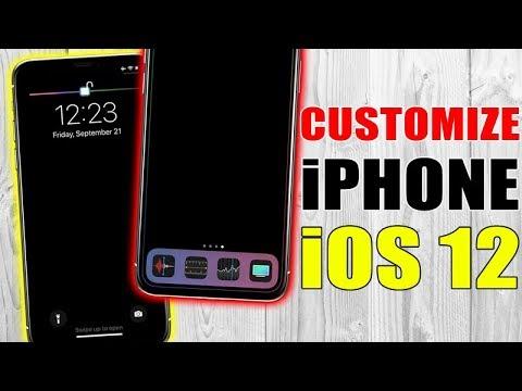 CUSTOMIZE iPhone On iOS 12 (NO Jailbreak)
