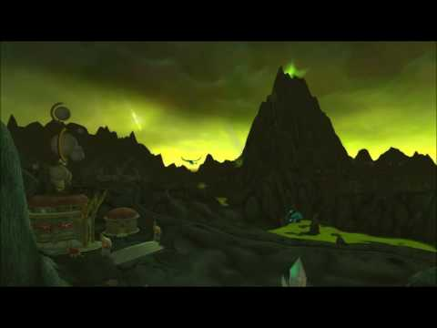 20 minutes Shadowmoon Valley Outland music - ingame - World of Warcraft