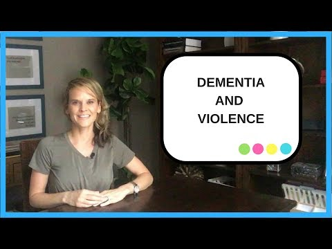 How to reduce violence in dementia