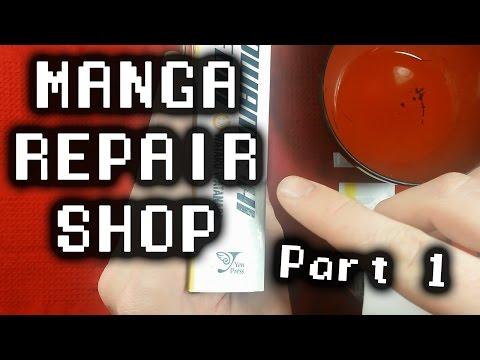MANGA REPAIR SHOP ~ Episode 1 ~ Sticker Removal