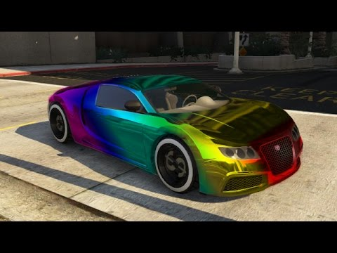 GTA 5|Car color glitch|