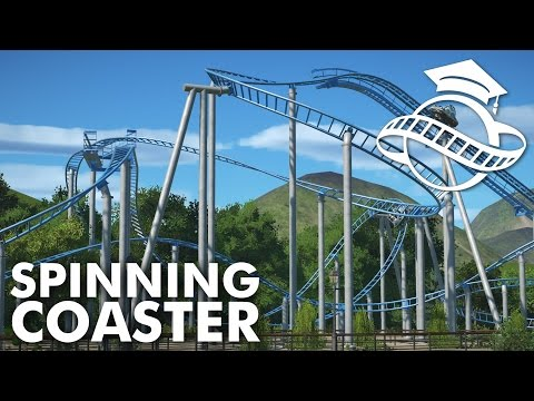 Planet Coaster College - Spinning Coaster Tutorial