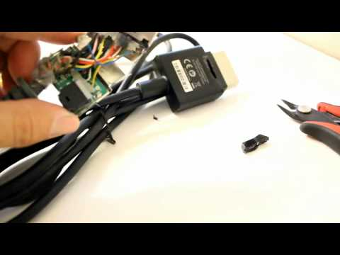 How to modify your own Xbox 360 Audio adapter