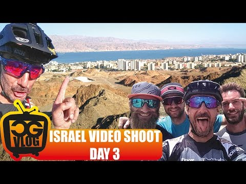 MOUNTAIN BIKING WITH A VIEW - Israel Video Shoot For Eurosport with Sam Pilgrim Day 3 CG VLOG #317