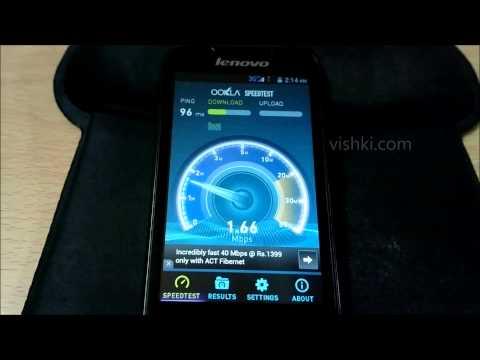 3G on Lenovo A369i - BSNL Network