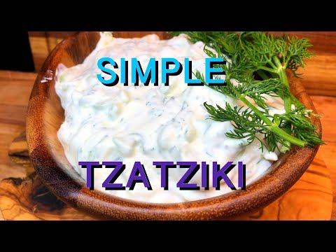Tzatziki Sauce/ Cucumber Sauce/ Greek Sauce