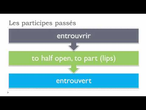 Learn French Today # The irregular past participles