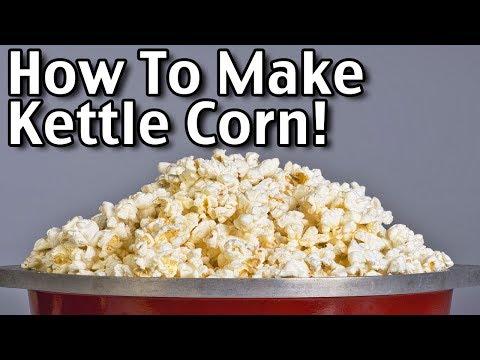 How To Make Homemade Kettle Corn And Popcorn Seasonings!