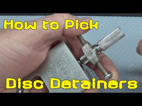(791) How to Pick Disc Detainer Locks