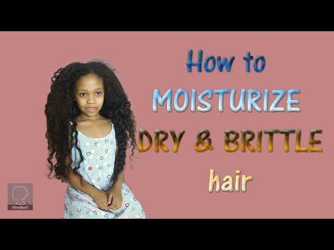 How To Moisturize Dry & Brittle Hair | AfroShe®