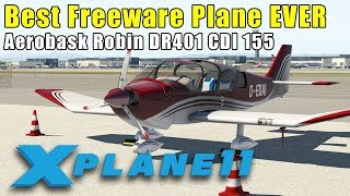 XPlane eXplained - First Look - Robin DR401 CDI (Free Aircraft from