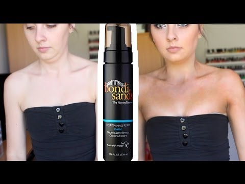 Bondi Sands Dark Tanning Foam REVIEW!