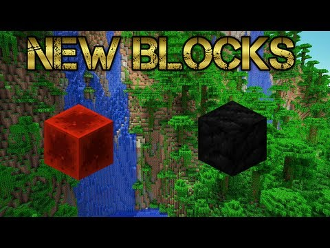 Minecraft Xbox 360 / PS3 - 1.6.4 Redstone Block and Coal Block (Title Update 19