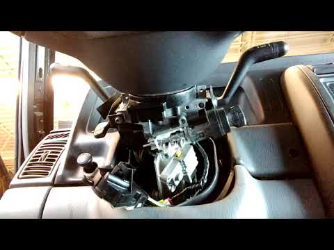 How to remove ignition lock cylinder 1998 Jeep Cherokee XJ