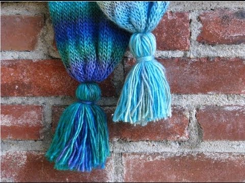 Tutorial:  How to Make Yarn Tassels