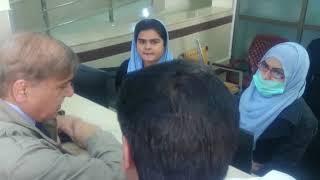 Chief Minister Punjab Shehbaz Sharif pays surprise visit to THQ, Raiwind