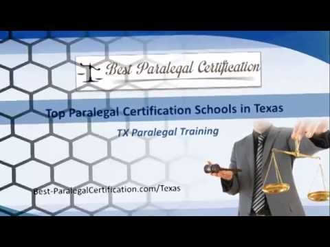 Top Paralegal Certification Schools in Texas | TX Paralegal Training