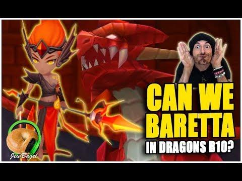 SUMMONERS WAR: Can We Baretta In Dragons B10?