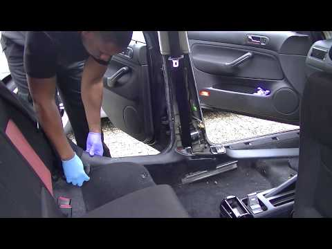 How to change a seat belt on a Volkswagen
