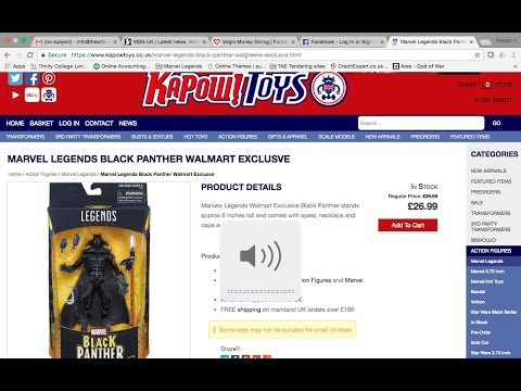 Charity Fundraiser 2017 Black Panther Raffle Video