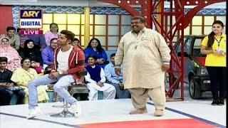 Anwer bhai Ka Dance in Jeeto Pakistan - ARY Digital Show