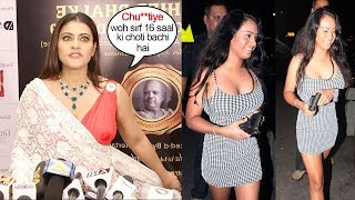 Kajal Devgan SH0UTS on Reporter Asking About H0T Daughter Nysa Devgn Being ready For Bollywood Debut