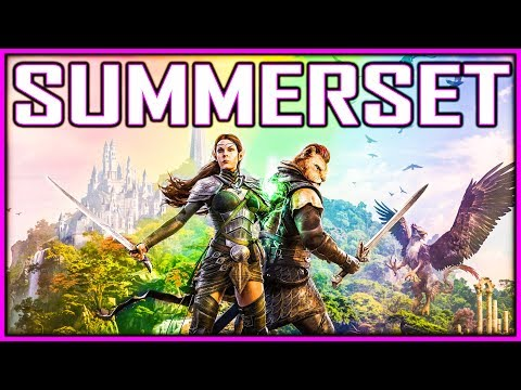 We're Finally Going To SUMMERSET, Home Of The Altmer - Elder Scrolls Online Chapter ESO
