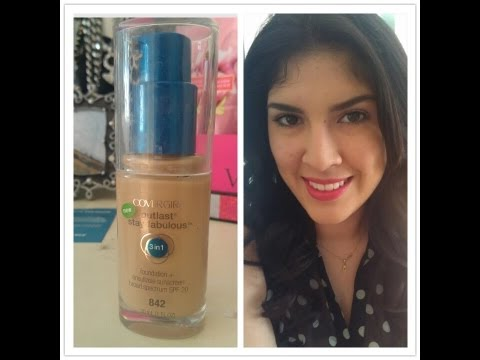 ❤❣ Review and Demo- Covergirl Outlast 3 in 1 Foundation by Lyovera1 ❣❤