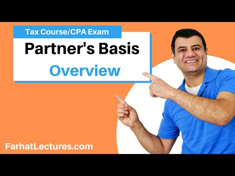 Partners' Basis | Corporate Income Tax | CPA REG | Ch 21 P 4