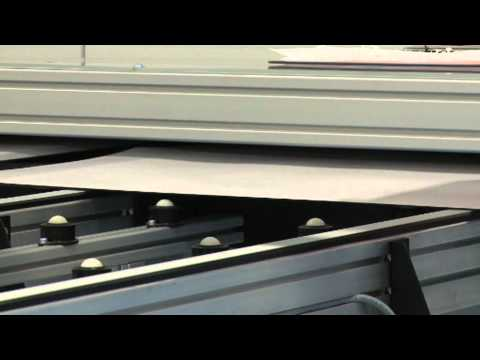 Solar panel production: Lamination