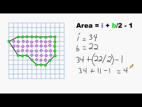 Trick To Find Area Of A Polygon Using A Graph