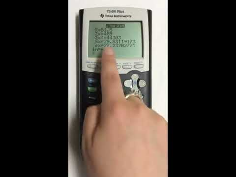 Finding the Mean and Median in TI 84 Graphing Calculator