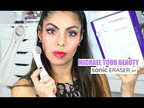 MICHAEL TODD BEAUTY SONIC ERASER pro Full Review Get Amazing Results! | FABIOLAG