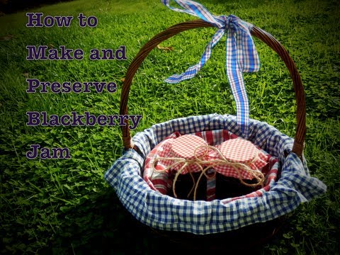 How to Make and Preserve Blackberry Jam - No pectin | Haley & Bronwen