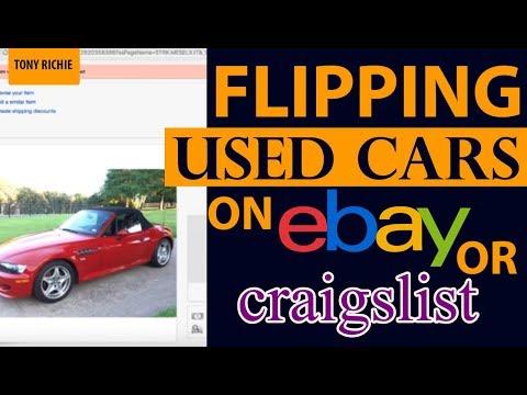 Flipping Used Cars on Ebay or Craigslist?