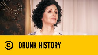Courteney Cox Makes A Great First Lady - Drunk History | Comedy Central US